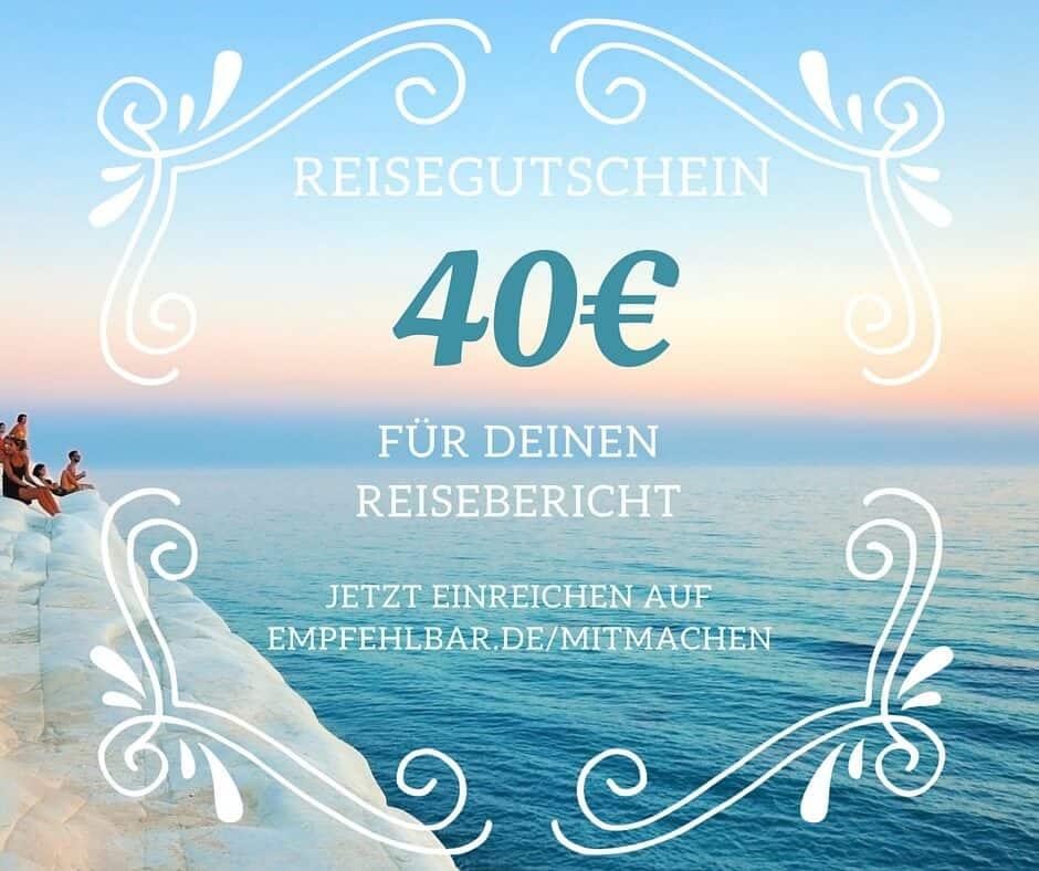 Reisegutschein 40 Euro