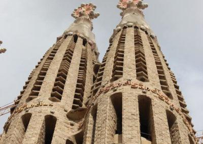 Barcelona - Familia Sagrada - Türme