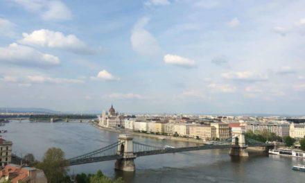 Mit dem Nachtzug von München nach Budapest