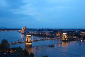 Budapest - Blick auf die Donau