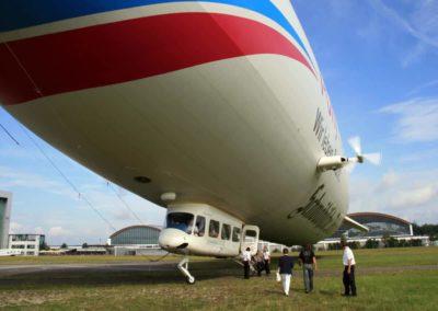 Landung des Zeppelin NT