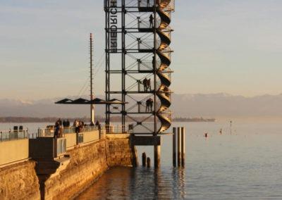 Aussichtsturm Friedrichshafen, Bodensee