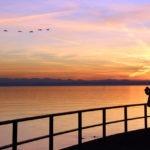 Sonnenuntergang Friedrichshafen, Bodensee