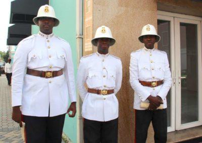 Verkehrspolizisten in Nassau