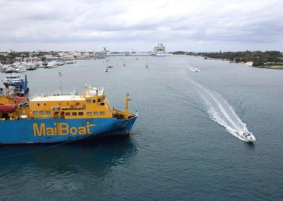 Nassau Harbour - Mailboat
