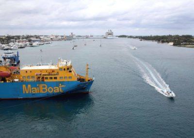 Nassau Harbour - Mailboat