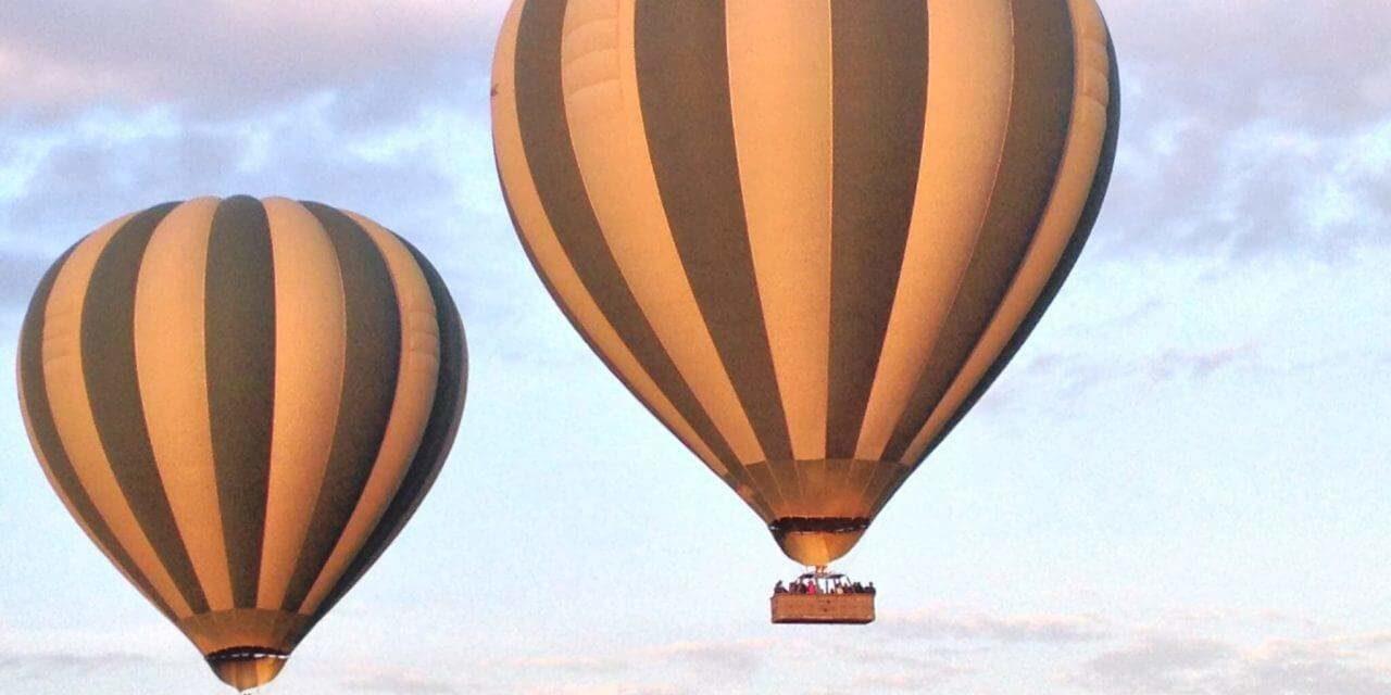 Im Ballon über die Serengeti