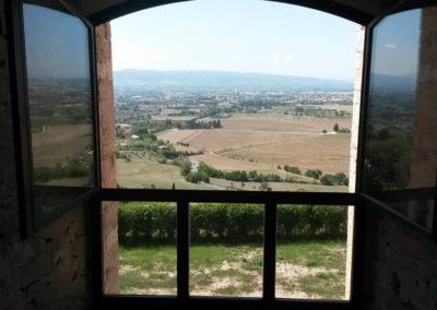Ausblick von Assisi