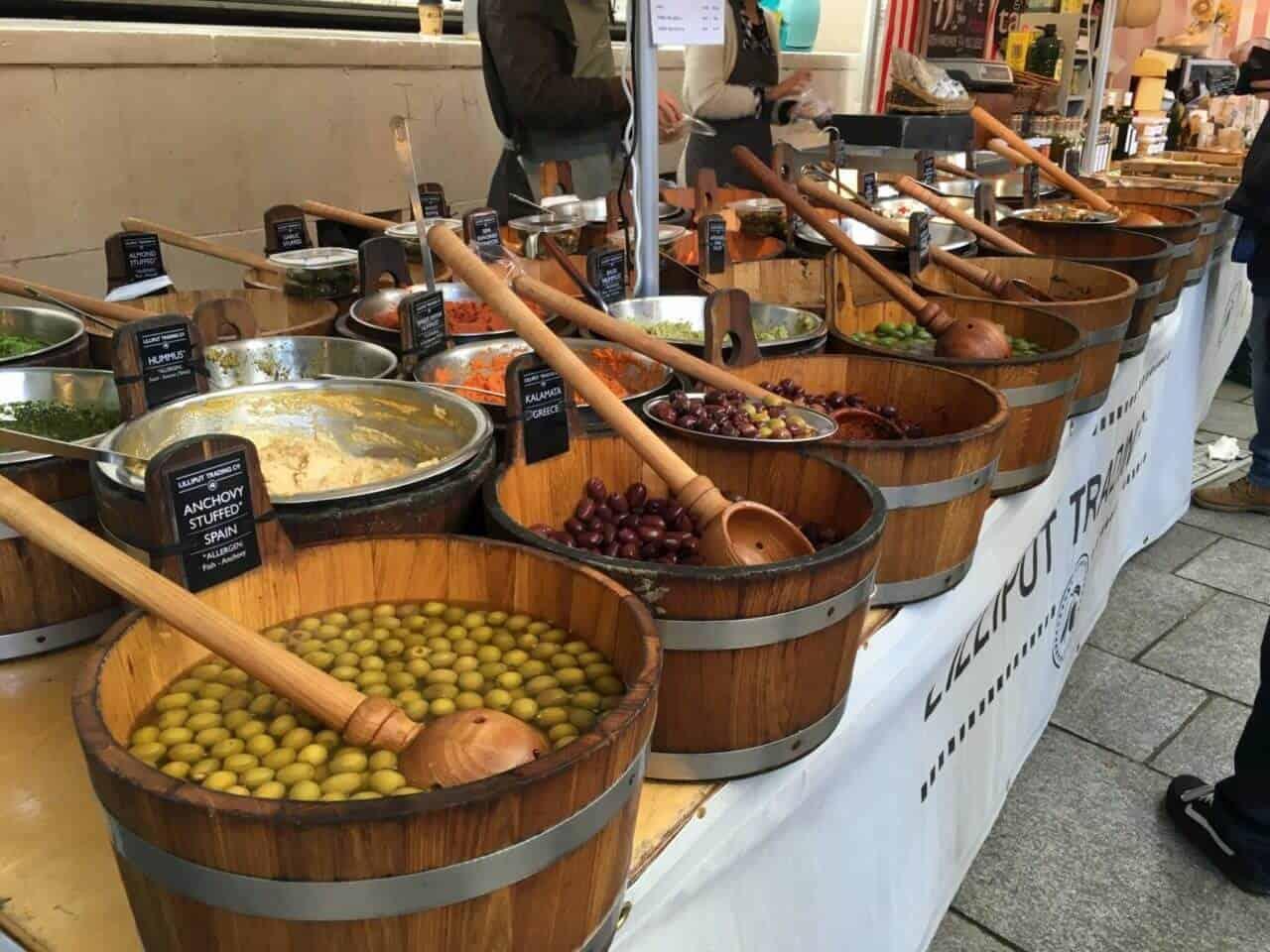 Temple Bar Food Market, Dublin