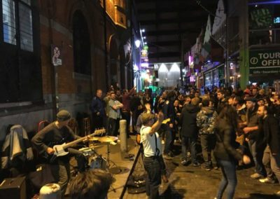 Live-Band, Temple Bar