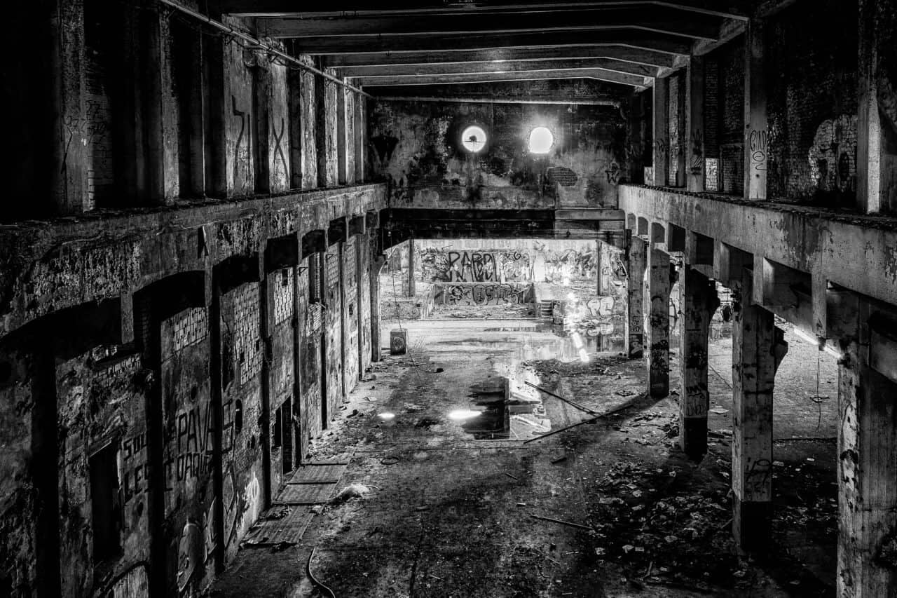 Verlassenes Fabrikgebäude