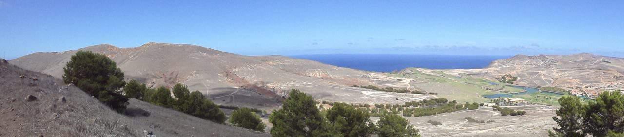 Landschaft mit Golfplatz