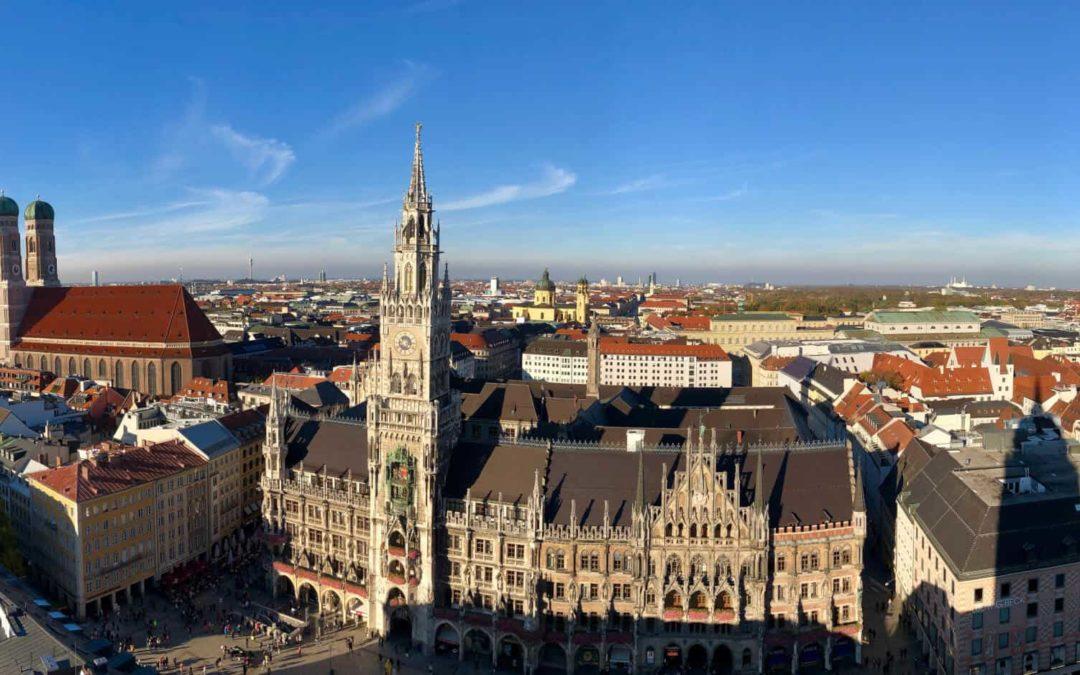 Auf dem Alten Peter – München von oben