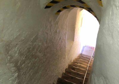 Treppe auf den Alten Peter