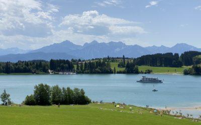 Wandern und Radfahren im Allgäu - Urlaub an der Füssener Seenplatte